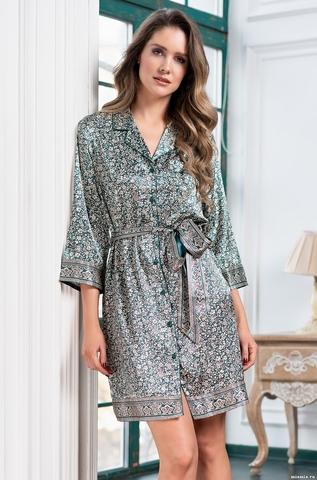 Рубашка-халат на пуговицах Mia-Amore VALERY Валери 8987