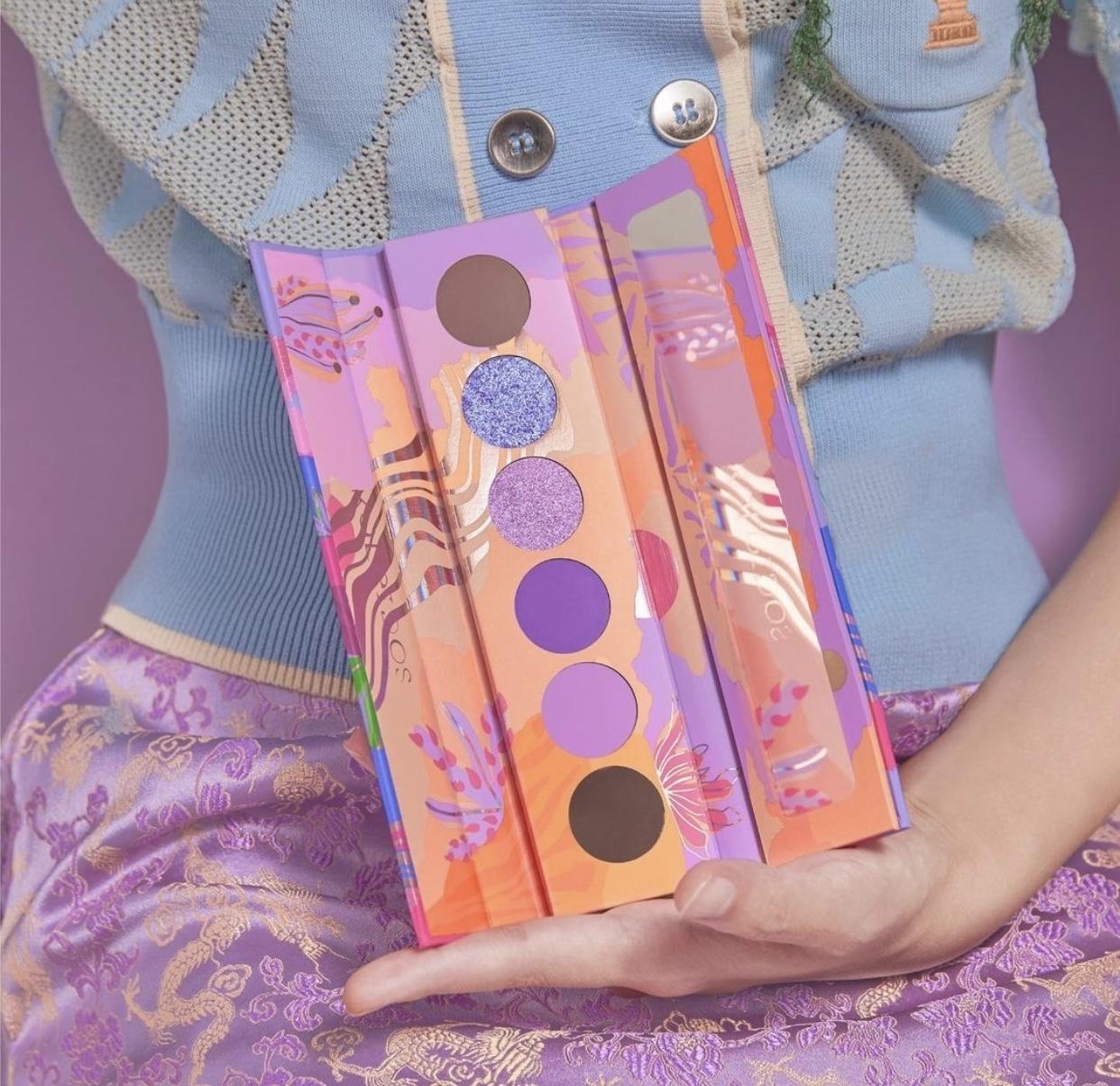 Kaleidos MakeUp Futurism VI: Lunar Lavender