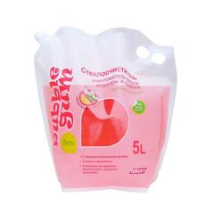 Жидкость стеклоомывающая Лето Bubble Gum, 5л, Дой-пак