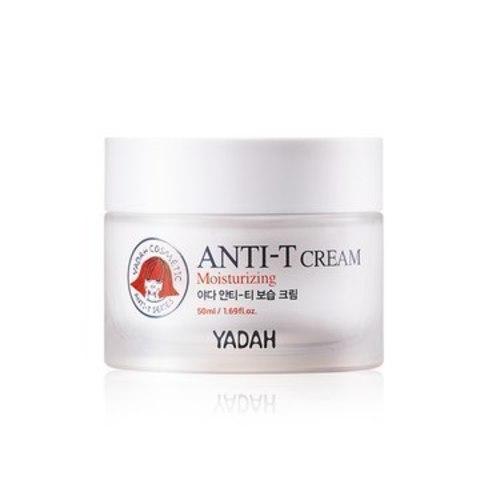 Крем увлажняющий для проблемной, жирной кожи лица Yadah Anti-T Moisturizing Cream