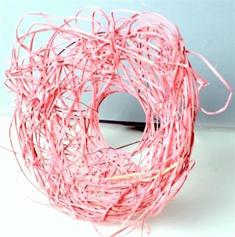 Каркас из ротанга (диаметр: 15 см) Цвет:светло-розовый