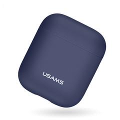 Чехол для Airpods 2 USAMS Silicone Protective Case (Синий)