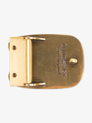 Hero's buckle color gold