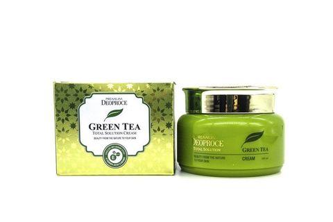 Deoproce Крем на основе зеленого чая Premium Greentea Total Solution Cream, 100 гр