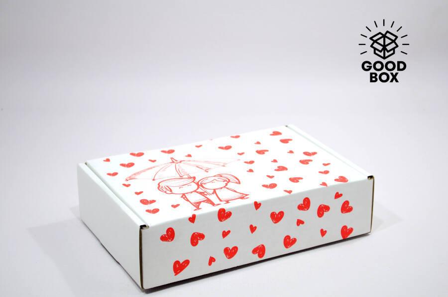 Подарочная коробка зонтик