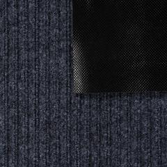 Коврик влаговпитывающий, ребристый, серый, 40*60 см