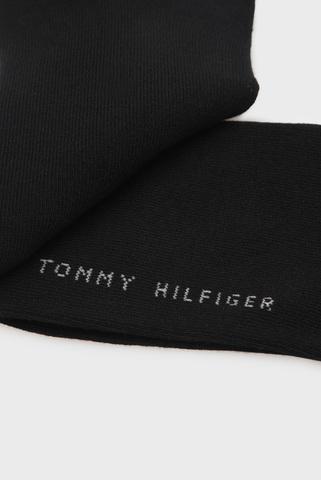 Мужские черные короткие носки (2 пары) Tommy Hilfiger