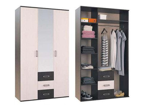 Шкаф Белла 3-х створчатый для одежды