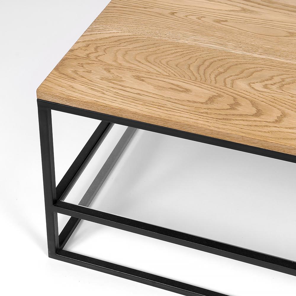 Столик Intelligent design London twin black прозрачный - вид 5