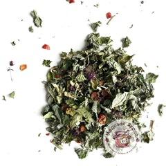 Травяной чай. Шиповник, душица, мята