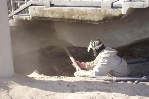 Антикоррозионная защита бетонных и  железобетонных конструкций