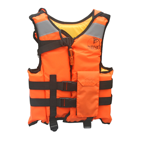 Жилет спасательный Мастер 100N, размер 124-132, оранжевый