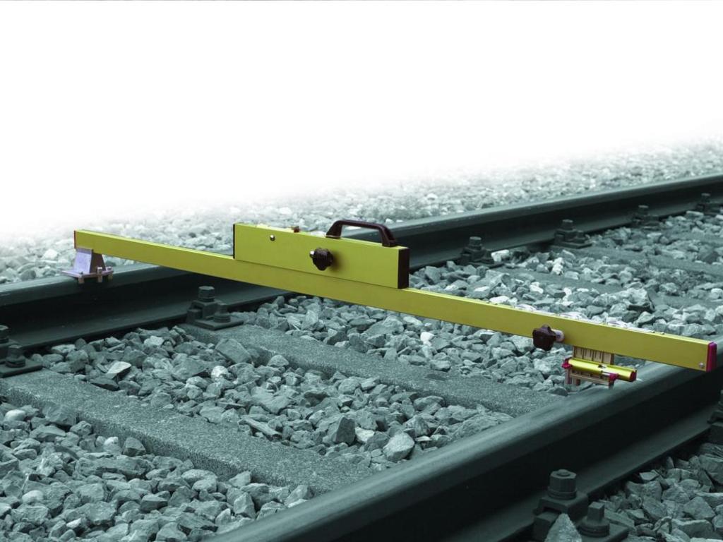 Путевой шаблон для контроля ширины колеи и возвышения на стрелочных переводах Robel 83.07