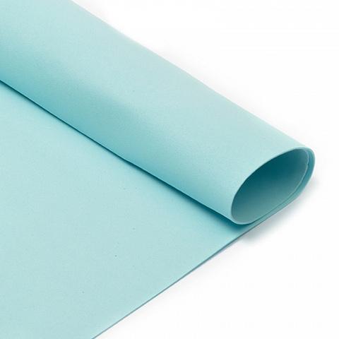 Фоамиран 1мм. 50*50см, голубой