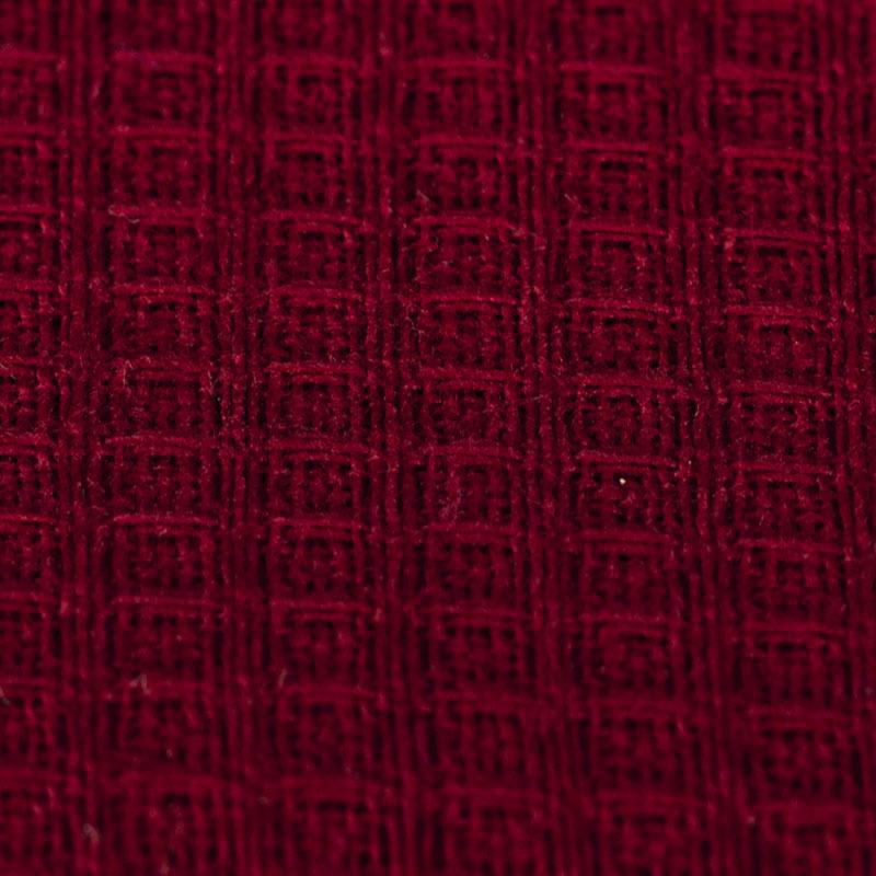 вишневая вафельная ткань