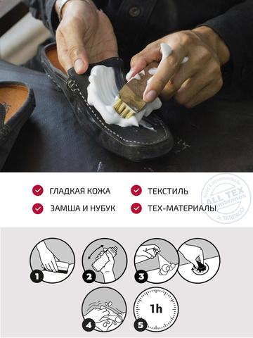 Пена-шампунь очиститель обуви Tarrago SHAMPOO