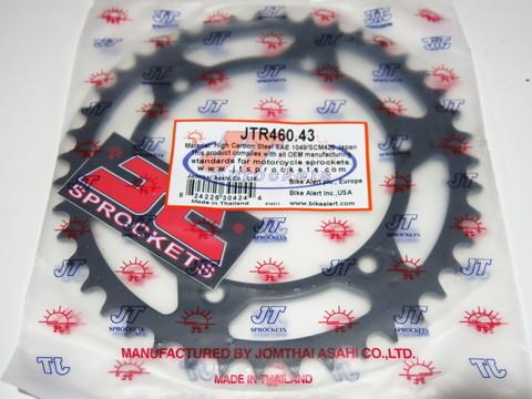 Звезда задняя JT R 460.43 KLX KDX KX