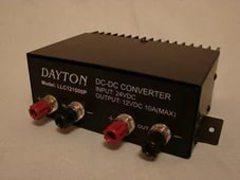 Конвертер 10А Dayton LLC121000P c 24В на 12В