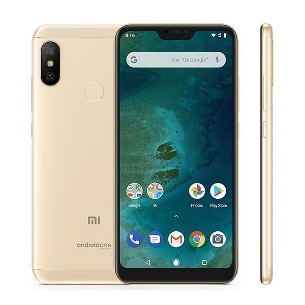 Xiaomi Mi A2 Lite 3GB/32GB Gold Global Version