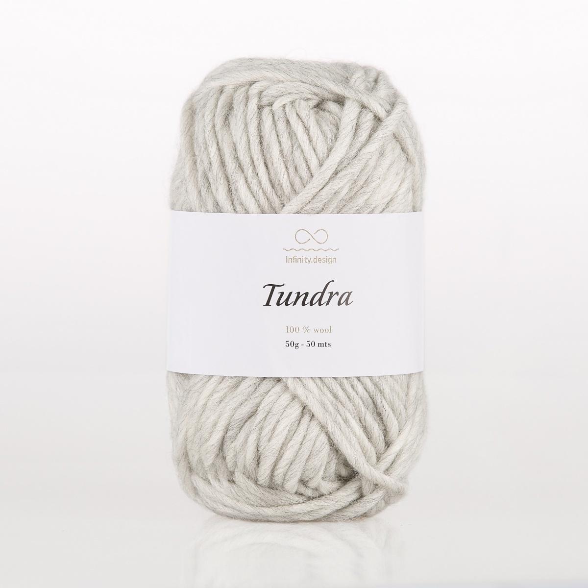 Пряжа Infinity Tundra 1042 серый