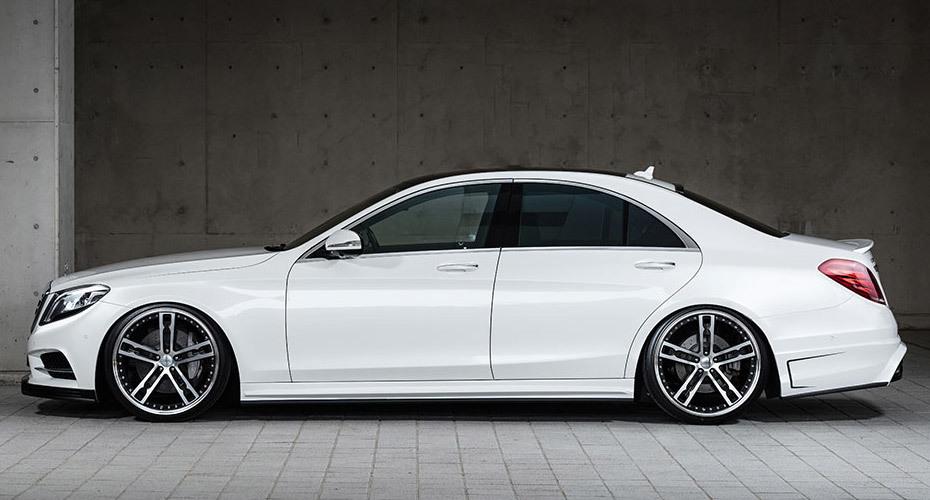 Обвес MzSpeed для Mercedes S-class W222