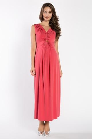 Платье для беременных 03719 красный