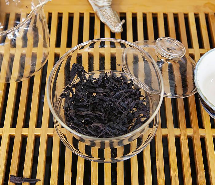TEA-CH115 Китайский чай «Большой Красный Халат» (Да Хун Пао, сильная обжарка, 50 гр) фото 07