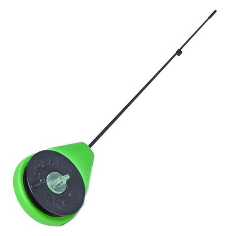 Удочка-балалайка зимняя Lucky John ERGO 26.5см зеленая