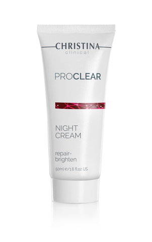 Christina Clinical ProClear Night Cream Repair Brighten