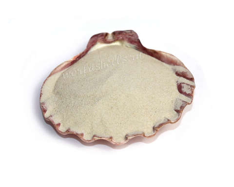 Песок бежевый мелкий натуральный 1 кг.