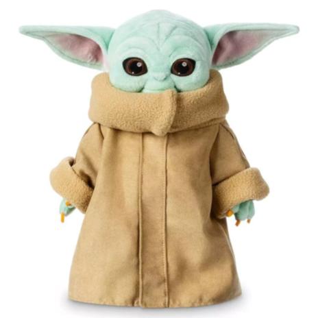 Мандалорец мягкая игрушка малыш Йода