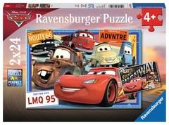 Puzzle DCA:Disney Cars 2x24 pcs