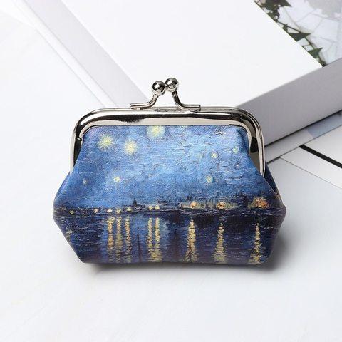 Pul qabı \ Кошелек \ Handbags Van Gogh Starry Night Over the Rhône