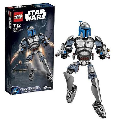LEGO Star Wars: Джанго Фетт 75107 — Jango Fett — Лего Стар ворз Звёздные войны Эпизод