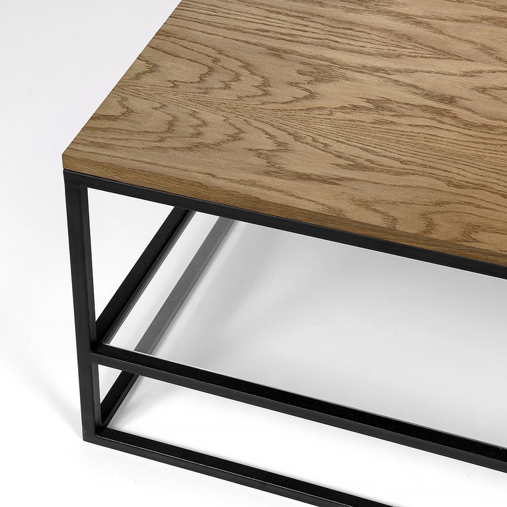 Столик Intelligent design London twin black прозрачный - вид 6