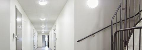 Светильник OSRAM 6W, 780Lm, IP54, 220V с датчиком движения и освещённости