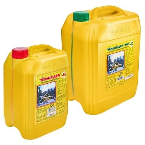 Антифриз для систем отопления ХимАвто Теплый дом-65, 10 литров