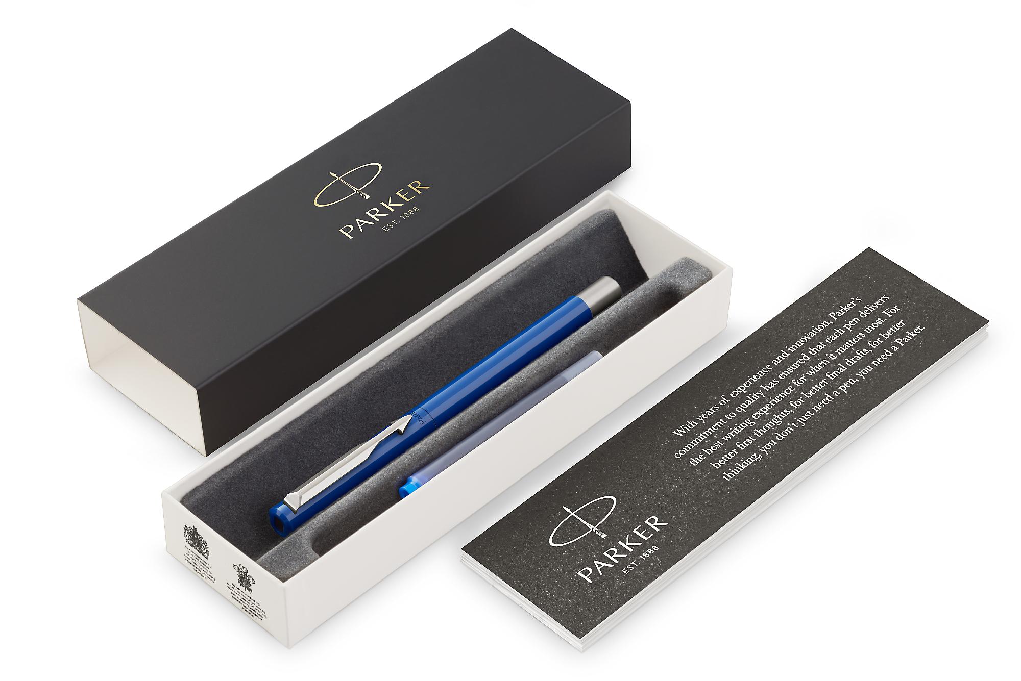 Parker Vector - Standart Blue, перьевая ручка, M