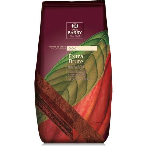 Какао порошок Cacao Barry Extra brute,алколизованное 1кг