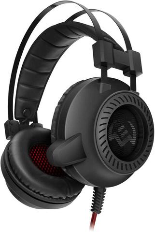 Наушники с микрофоном Sven AP-U840MV черный 2.2м мониторные оголовье