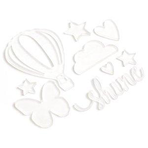 Акриловые украшения  Shimelle Starshine by American Crafts