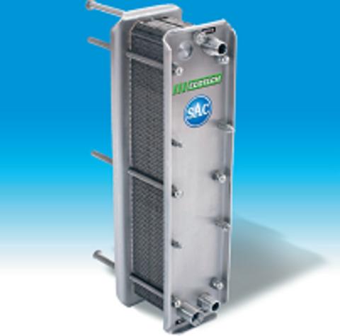 2 секции | Пластинчатый охладитель SAC
