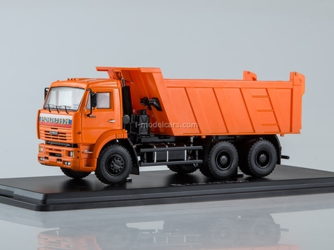 KAMAZ-6520 6x4 tipper orange 1:43 Start Scale Models (SSM)