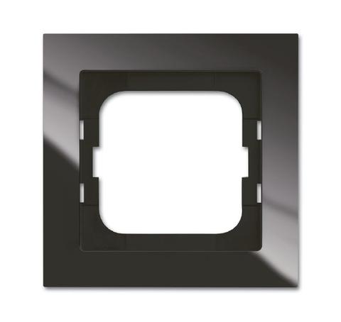 Рамка на 1 пост. Цвет Château чёрный. ABB(АББ). Axcent(Акcент). 1754-0-4491