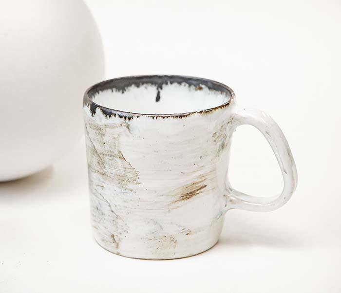 CUP117-1 Керамическая кружка ручной работы, глазурь (200 мл)