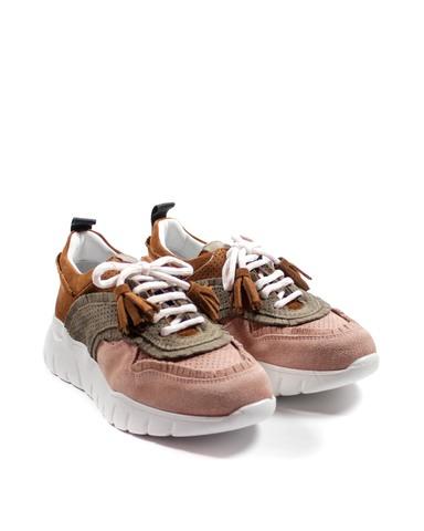 розовые кроссовки SM