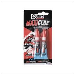 Клей секундный QUELYD Maxi Qlue гель (Прозрачный)