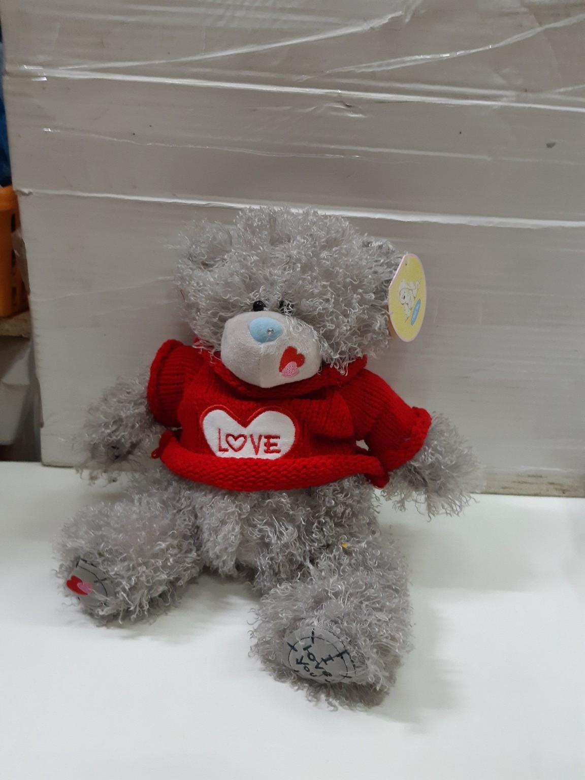 Мишка Тедди в свитере в двух расцветках