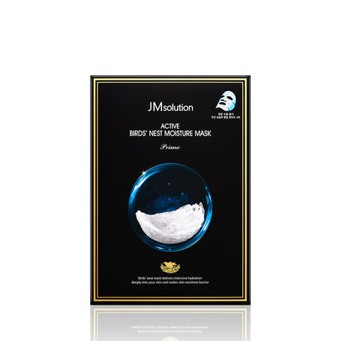 JMSolution Маска для лица с экстрактом ласточкиного гнезда Bird's Nest Moisture Mask Prime