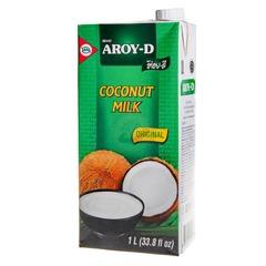 Кокосовое молоко 60% AROY-D 1000 мл.